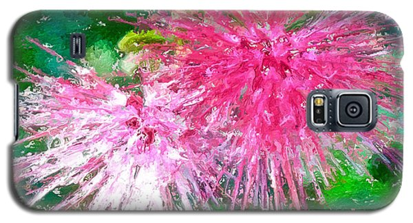 Soft Pink Flower Galaxy S5 Case