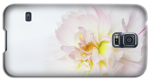 Galaxy S5 Case featuring the photograph Soft Ruffles by Mary Jo Allen
