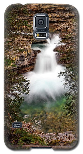 Galaxy S5 Case featuring the photograph Soft Smooth Waterfall by Darcy Michaelchuk