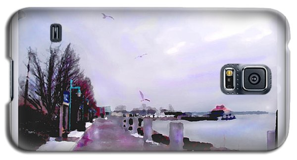Galaxy S5 Case featuring the photograph Soft Winter Day by Felipe Adan Lerma