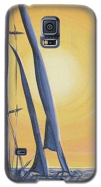 Softly Setting Sun Galaxy S5 Case
