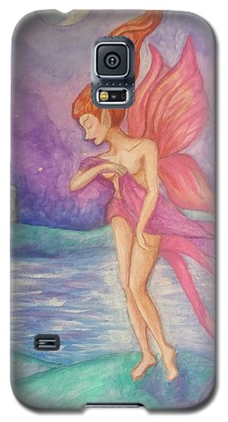 Softly,on The Wings Of Night Galaxy S5 Case