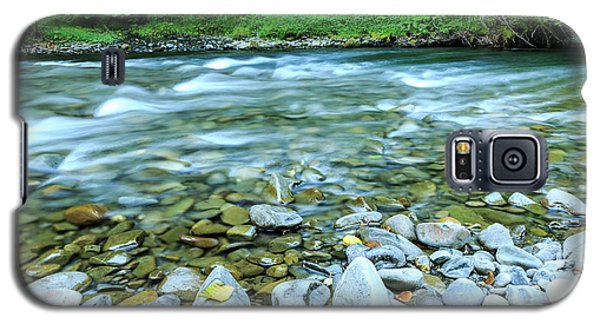 Sol Duc River In Summer Galaxy S5 Case