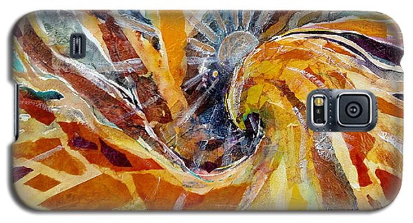 Solar Chakra Meditation Galaxy S5 Case