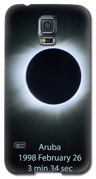 Solar Eclipse Aruba 1998 Galaxy S5 Case