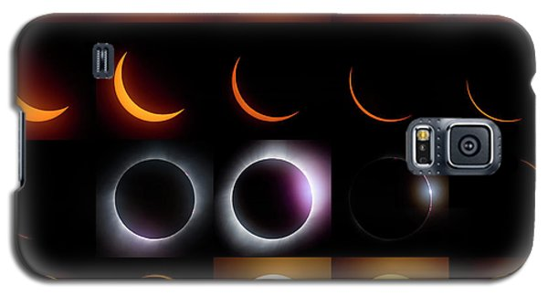 Solar Eclipse - August 21 2017 Galaxy S5 Case