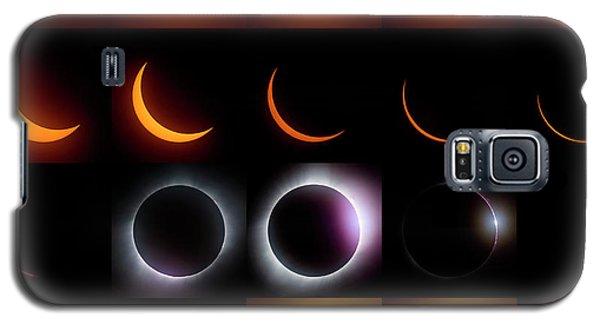 Solar Eclipse - August 21 2017 Galaxy S5 Case