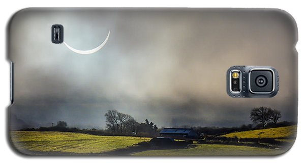 Solar Eclipse Over County Clare Countryside Galaxy S5 Case