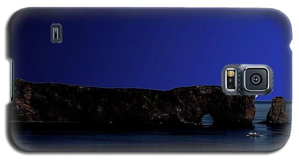 Solar Eclipse Over Perce Rock Galaxy S5 Case