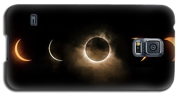 Solar Eclipse Progression Galaxy S5 Case