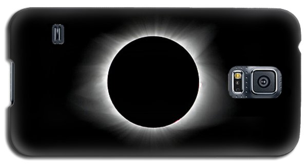 Solar Eclipse Ring Of Fire Galaxy S5 Case