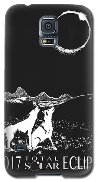 Solar Eclipse Galaxy S5 Case