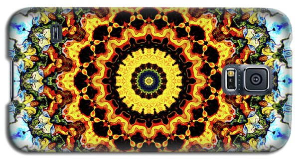 Galaxy S5 Case featuring the digital art Solar Flare 2 by Wendy J St Christopher