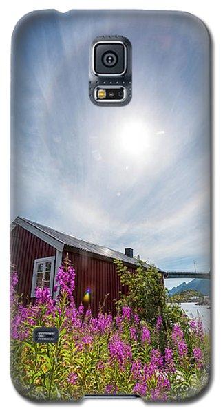 Solar Halo Above Rorbu Galaxy S5 Case