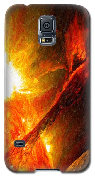 Solar Mass Ejection Galaxy S5 Case