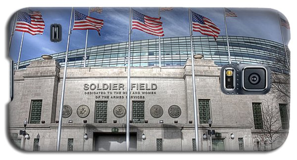 Soldier Field Galaxy S5 Case