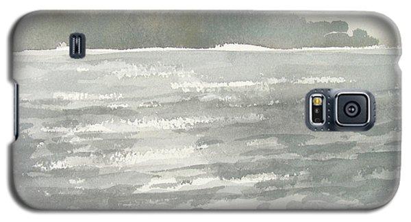 Soldis Over Glittrande Fjord - Sunlit Haze Over Glittering Water_0023 76x48cm Galaxy S5 Case