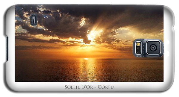 Soleil D'or - Corfu Galaxy S5 Case