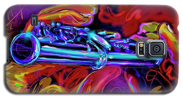 Solid Silver Galaxy S5 Case