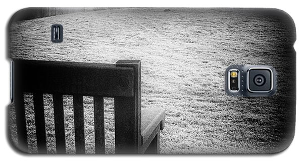 Solitary Bench In Winter Galaxy S5 Case