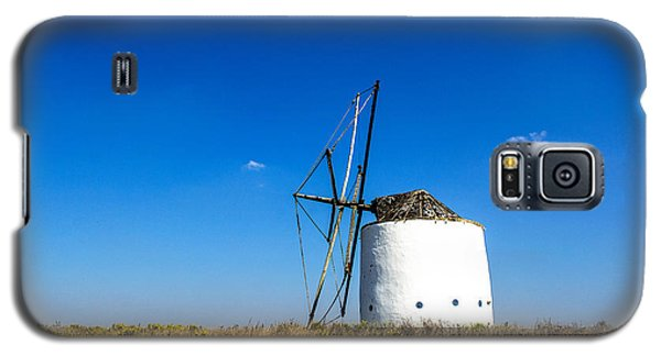 Solitary Windmill Galaxy S5 Case by Marion McCristall