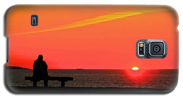 Solitude At Sunrise Galaxy S5 Case