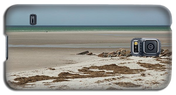 Galaxy S5 Case featuring the photograph Solitude By The Seashore by Michelle Wiarda