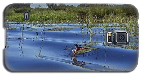 Solitude In The Okavango Galaxy S5 Case