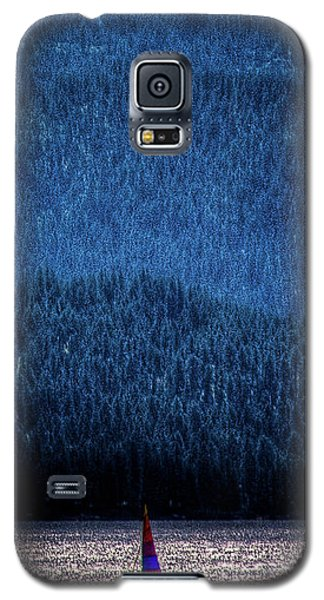 Galaxy S5 Case featuring the photograph Solitude On Priest Lake by David Patterson