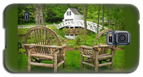 Somesville Maine - Arched Bridge Galaxy S5 Case