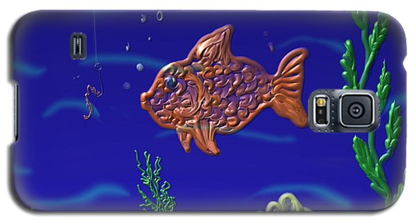 Something Fishy Galaxy S5 Case by Kevin Caudill