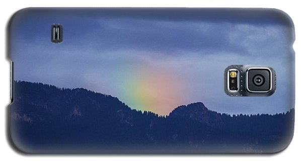 Galaxy S5 Case featuring the photograph Sometimes The Rainbow Is On The Other Side Of The Mountain by Colleen Williams