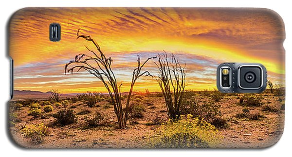 Galaxy S5 Case featuring the photograph Somewhere Over by Peter Tellone