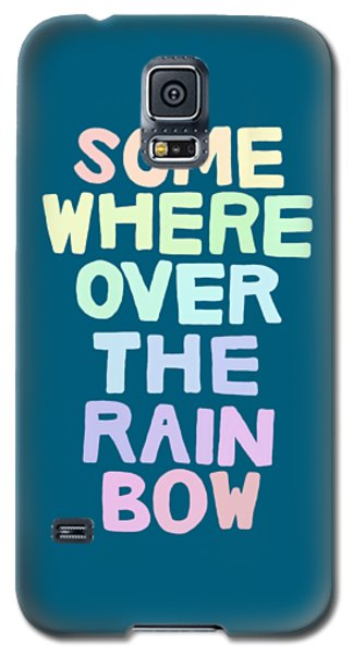Somewhere Over The Rainbow Galaxy S5 Case by Priscilla Wolfe