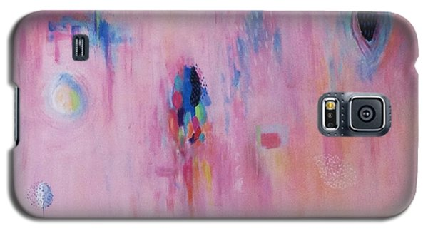 Working Through The Layers Pink Galaxy S5 Case by Suzzanna Frank