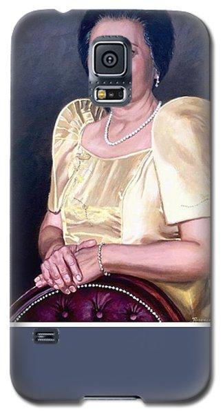 Galaxy S5 Case featuring the painting Sonia by Rosencruz  Sumera