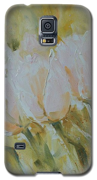 Sonnet To Tulips Galaxy S5 Case