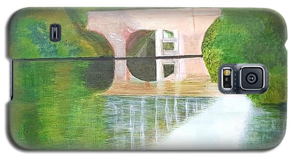 Sonning Bridge In Autumn Galaxy S5 Case