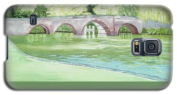Sonning Bridge  Galaxy S5 Case by Joanne Perkins