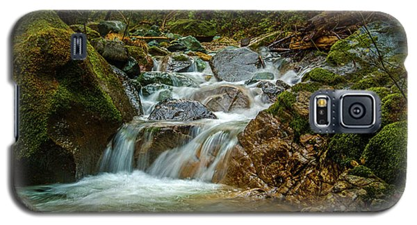 Galaxy S5 Case featuring the photograph Sonoma Valley Creek by Bill Gallagher