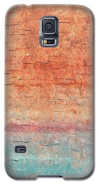 Sonoran Desert #1 Southwest Vertical Landscape Original Fine Art Acrylic On Canvas Galaxy S5 Case