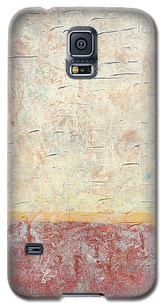 Sonoran Desert #2 Southwest Vertical Landscape Original Fine Art Acrylic On Canvas Galaxy S5 Case