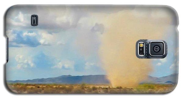 Sonoran Desert Dust Devil Galaxy S5 Case