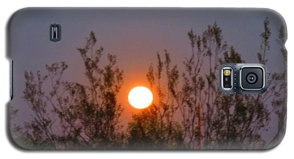 Sonoran Desert Harvest Moon Galaxy S5 Case