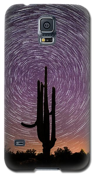 Sonoran Star Trails Galaxy S5 Case