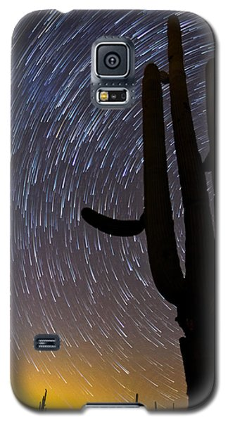 Sonoran Startrails - Reaching For The Stars Galaxy S5 Case