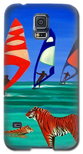 Tigers Sons Of The Sun Galaxy S5 Case