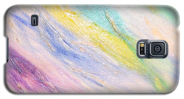 Galaxy S5 Case featuring the painting Soothing by Lori Jacobus-Crawford
