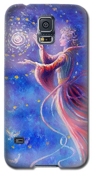 Sophia Finds Wisdom Galaxy S5 Case by Dee Davis