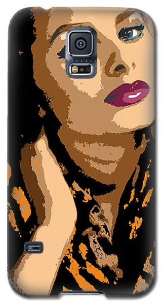 Galaxy S5 Case featuring the digital art Sophia by John Keaton